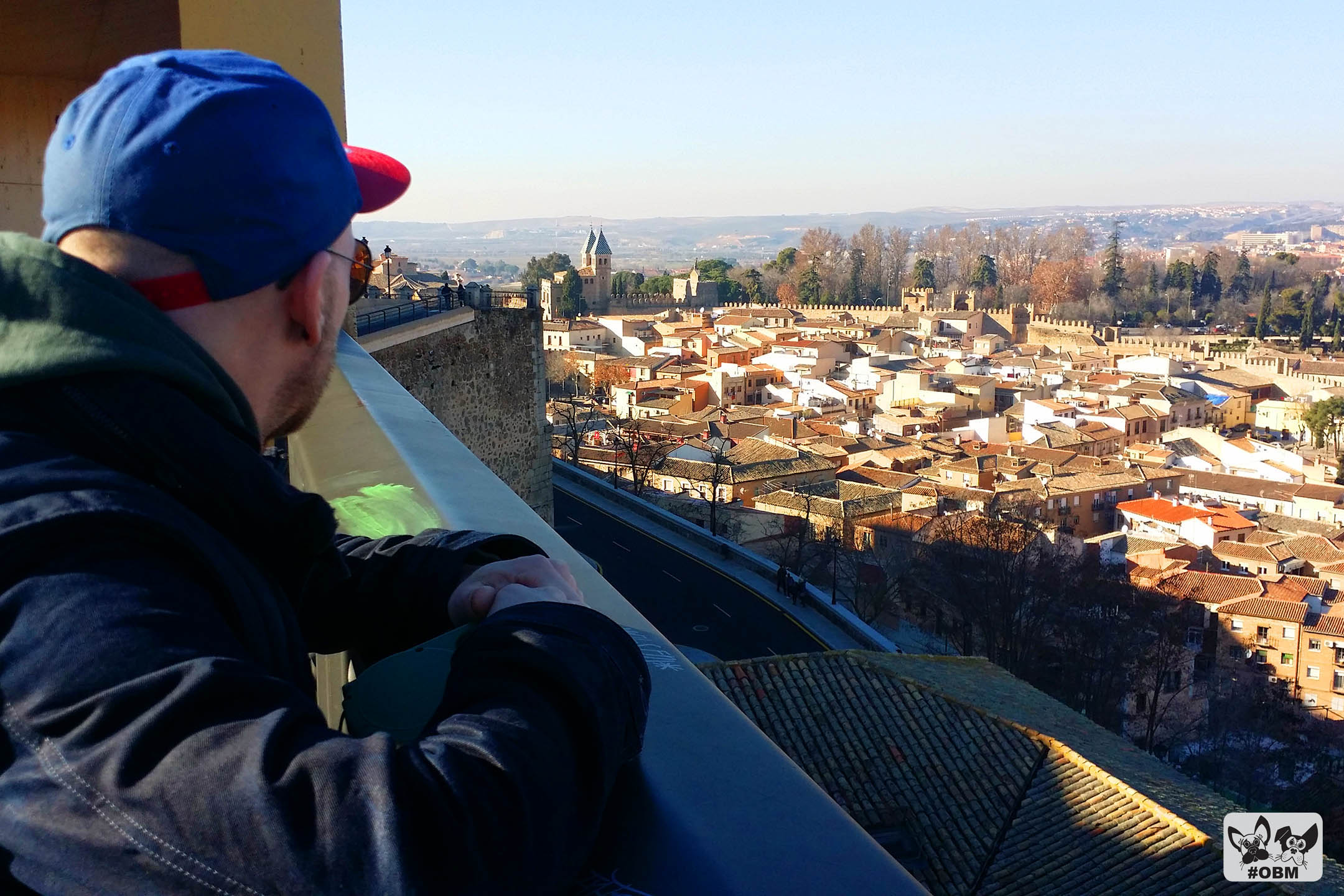 """Terrific view from the walls on the """"down-town"""" area of Toledo"""