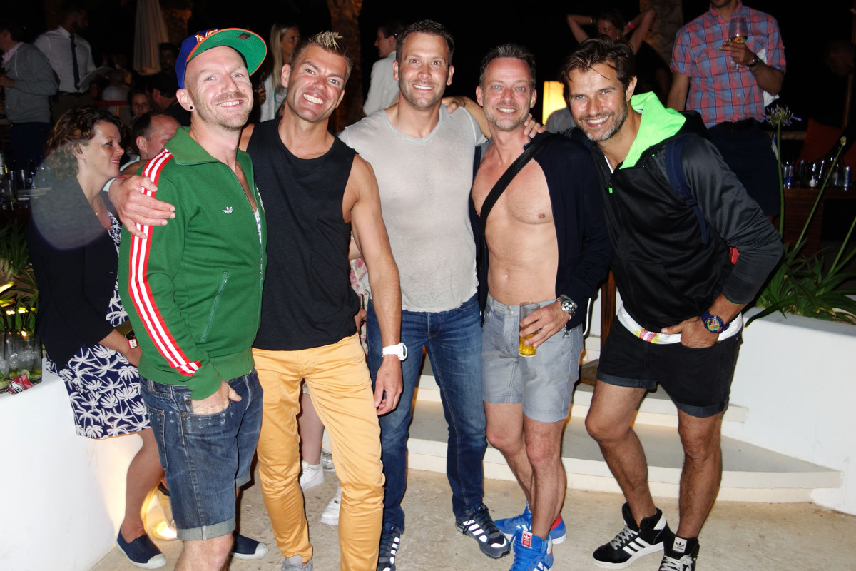 #gay couple Johan Verveer Gertjan Holleman move to #Ibiza Spain #clubbing #opening #Pacha #Destino #Luciano