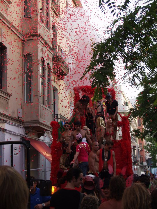 #ibiza #gay pride #gaypride TBT 2005 parade #LaTroya our big move #ourbigmove #Gertjan #Harry