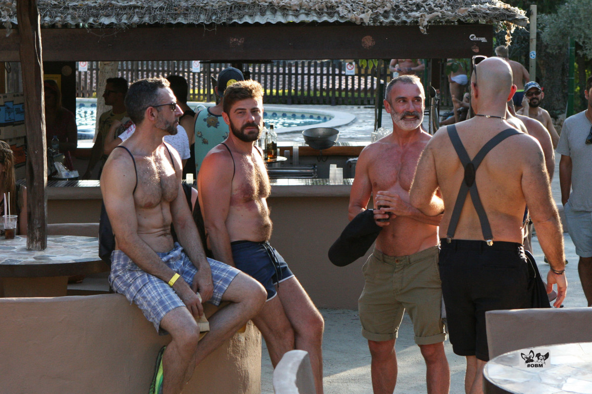 #gay couple #GertjanHolleman #JohanVerveer moves to #Ibiza #clubbing #ibizagaypride #pride Animal Park