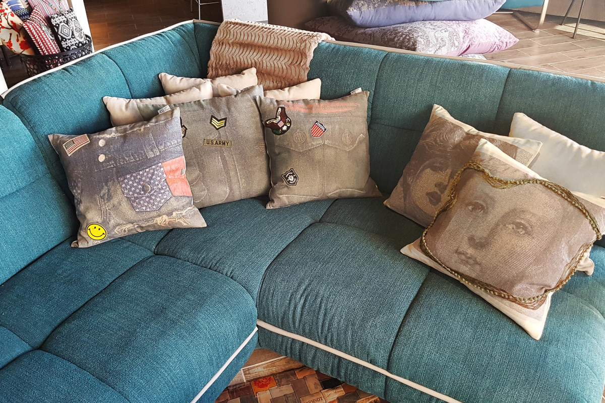 launch first collection cushions art kitchens at HACO mumbles store #gertdesign #gert #design #Ibiza #Ibiza2016