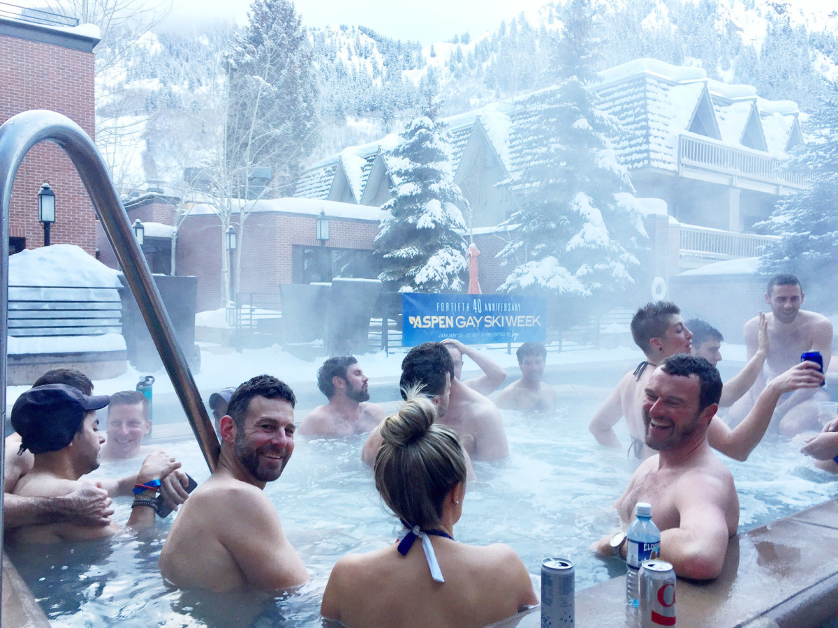 Aspen gay ski week Limelight Gertjan Johan party our big move #ourbigmove Trump Obama equality marriage LGTB